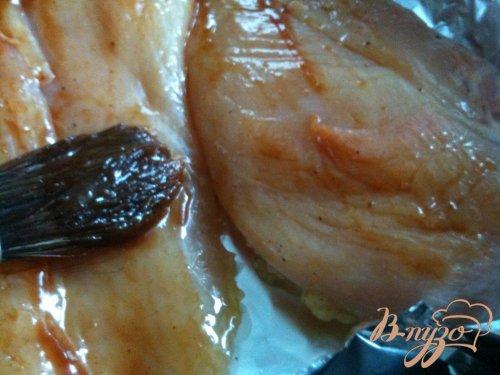 Куриные грудки с кофейно-ромовой глазурью