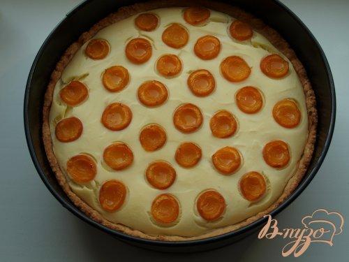 """Творожный пирог с абрикосами """"Жирафик"""""""