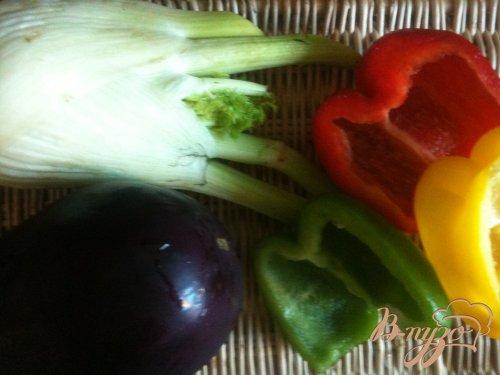 Гарнир из запеченных овощей с крупой по-восточному