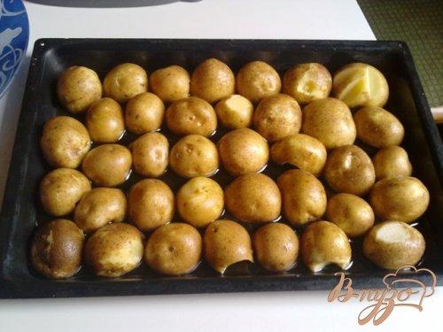 Запеченный картофель с тимьяном