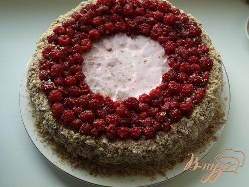 Торт из пряников с ягодами