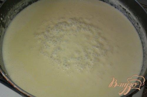 Паста пенне в сливочно-сырном соусе