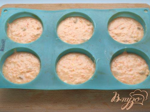 Морковно-тыквенные кексы с мармеладом