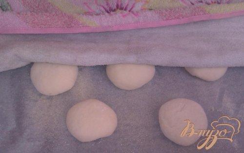 Булочки с малиновым вареньем