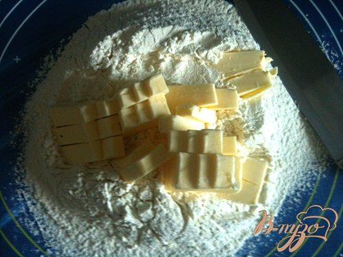 Рубленое тесто с сыром
