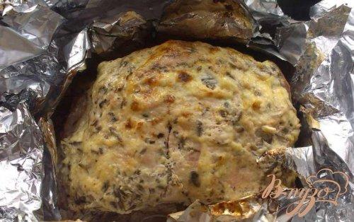 Корейка в сметанно-соевом маринаде
