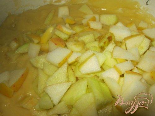 Маффины с медом и яблоками