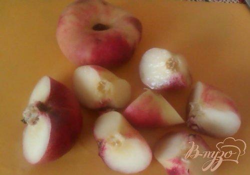 Компот из инжирных персиков