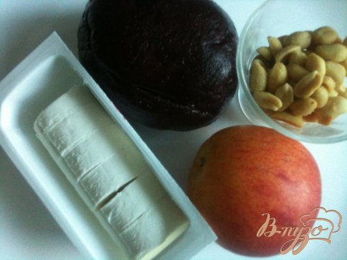 Закуска из свеклы и козьего сыра
