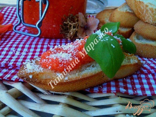 Фото приготовление рецепта: Острый закусочный соус шаг №5