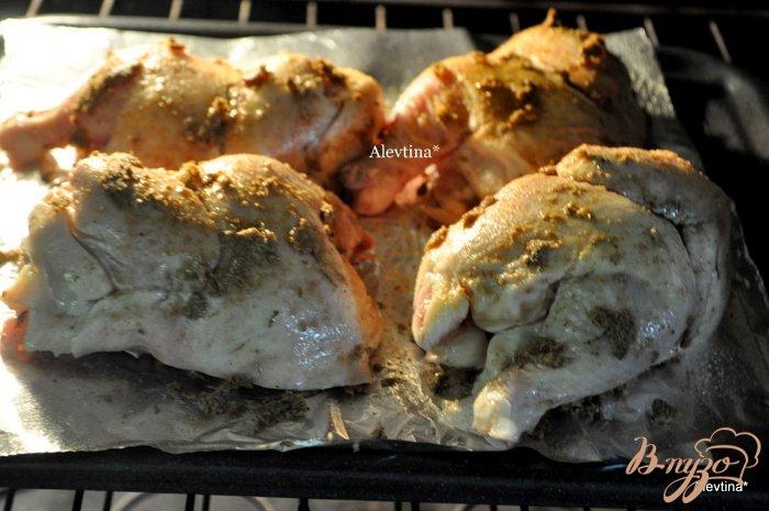 Фото приготовление рецепта: Куропатки с кленовым сиропом и специями шаг №3