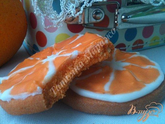 """Рецепт Печенье """"Апельсиновые дольки"""""""