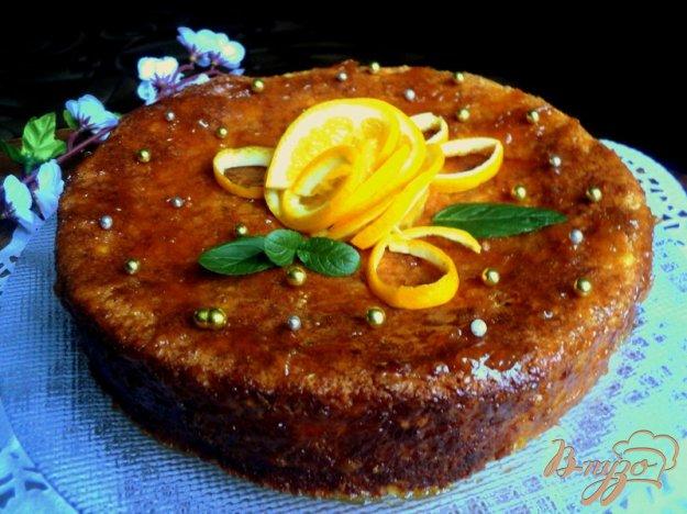 фото рецепта: Апельсиновый торт