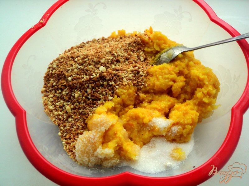 Фото приготовление рецепта: Апельсиновый торт шаг №4
