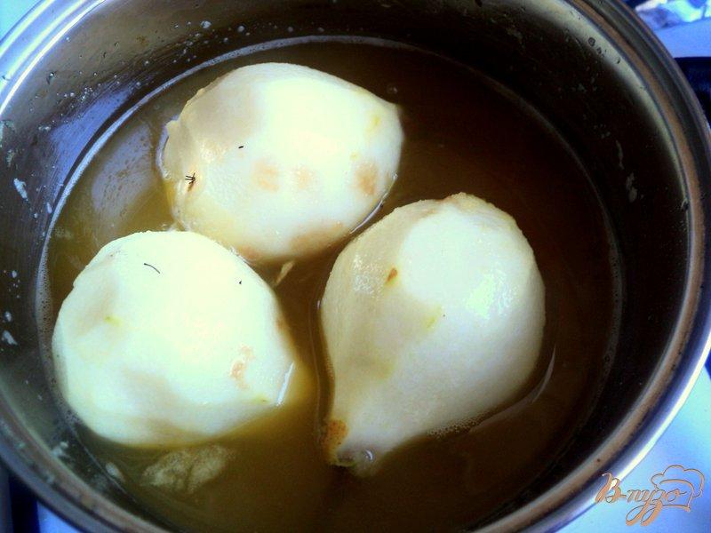 Фото приготовление рецепта: Груши в сиропе шаг №1