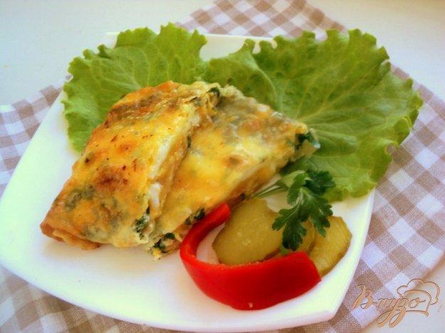 Рецепт Ека – конвертики из лаваша с начинкой