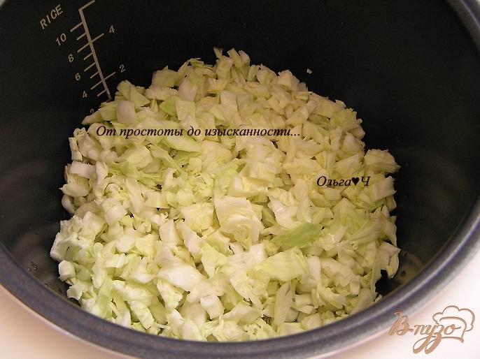 Фото приготовление рецепта: Тушеная капуста с двумя видами чечевицы и орегано шаг №1