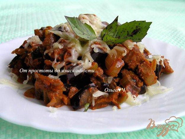 Рецепт Рагу из баклажан с оливками и базиликом