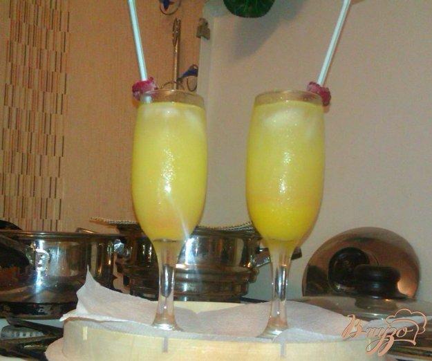 Рецепт Освежающий коктейль с лимонным ликером