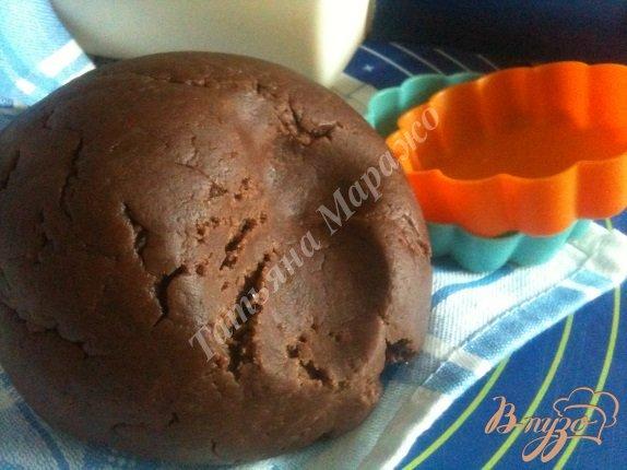 Фото приготовление рецепта: Рубленое шоколадное тесто шаг №5