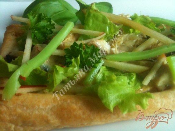 Рецепт Закусочные слойки с макрелью