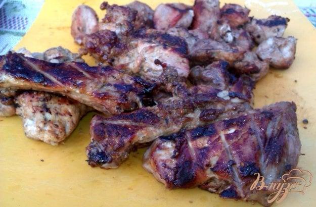 Рецепт Свиные ребрышки на решетке