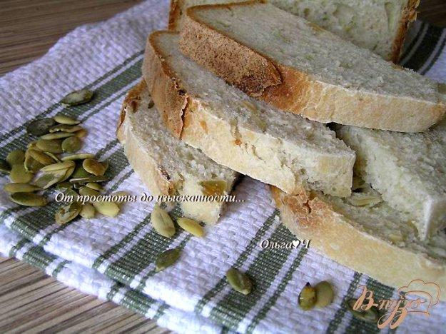 Рецепт Хлеб с овсяными хлопьями и тыквенными семечками