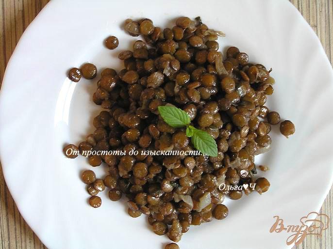 Фото приготовление рецепта: Чечевица по-мюнхенски шаг №5