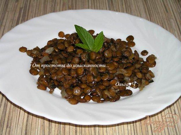Рецепт Чечевица по-мюнхенски