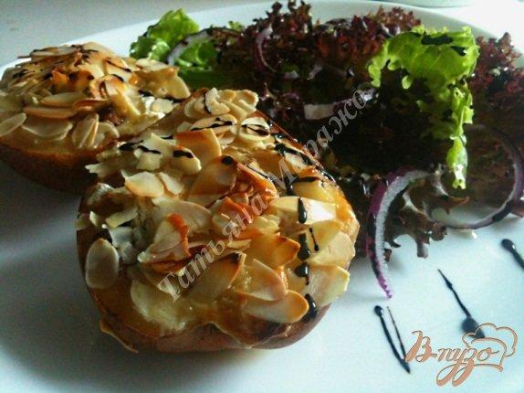 Рецепт Груши с голубым сыром и утиной грудкой