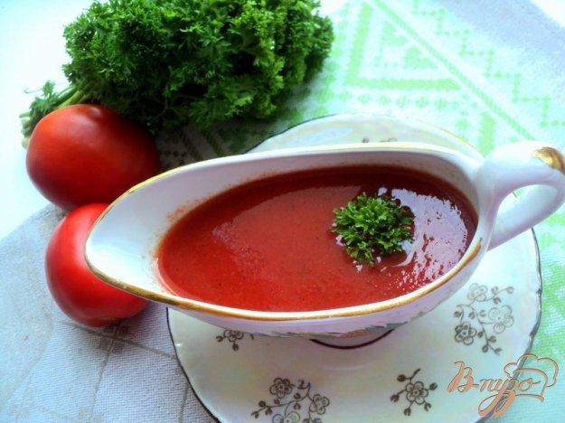 фото рецепта: Домашний кетчуп из томатного сока