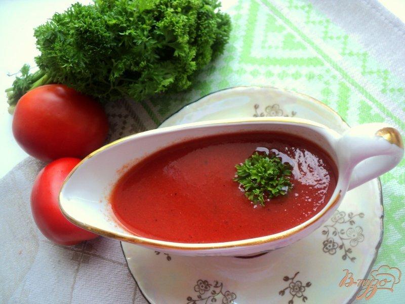 Фото приготовление рецепта: Домашний кетчуп из томатного сока шаг №5