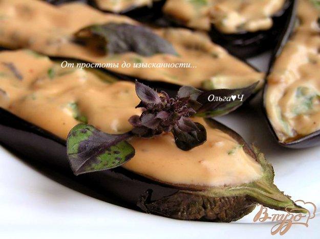 Рецепт Баклажаны под розовым соусом