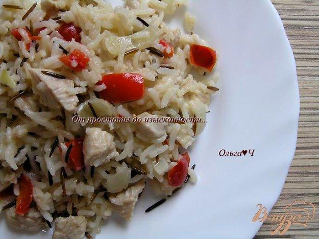 Рецепт Индейка с рисом и сладким перцем