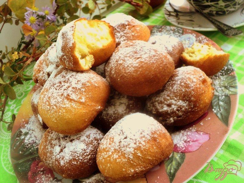 Фото приготовление рецепта: Супер быстрые пончики шаг №4