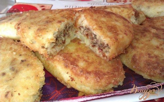 Рецепт Картофельные пирожки с печенкой