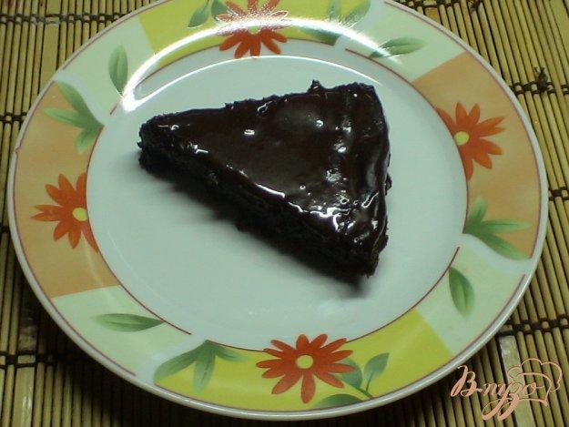 фото рецепта: Шоколадно - банановый тортик