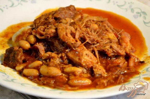 фото рецепта: Суп со свининой и фасолью