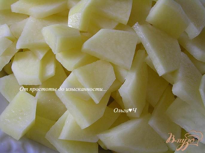 Фото приготовление рецепта: Суп с курицей в мультиварке шаг №2