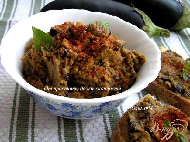Рецепт Баклажанный дип с мятой