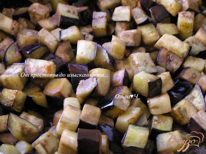 Фото приготовление рецепта: Баклажанный дип с мятой шаг №1