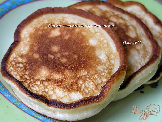 Фото приготовление рецепта: Оладьи на домашнем йогурте шаг №5