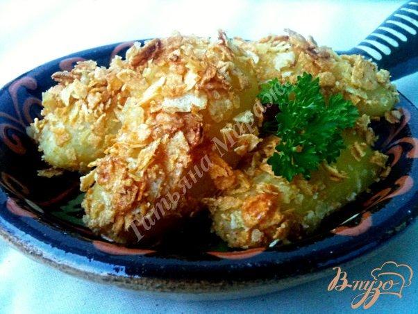 Фото приготовление рецепта: Картофель хрустящий шаг №5