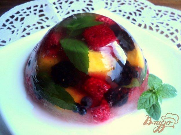 Рецепт Фруктово-ягодное желе