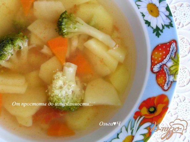Рецепт Овощной суп с брокколи