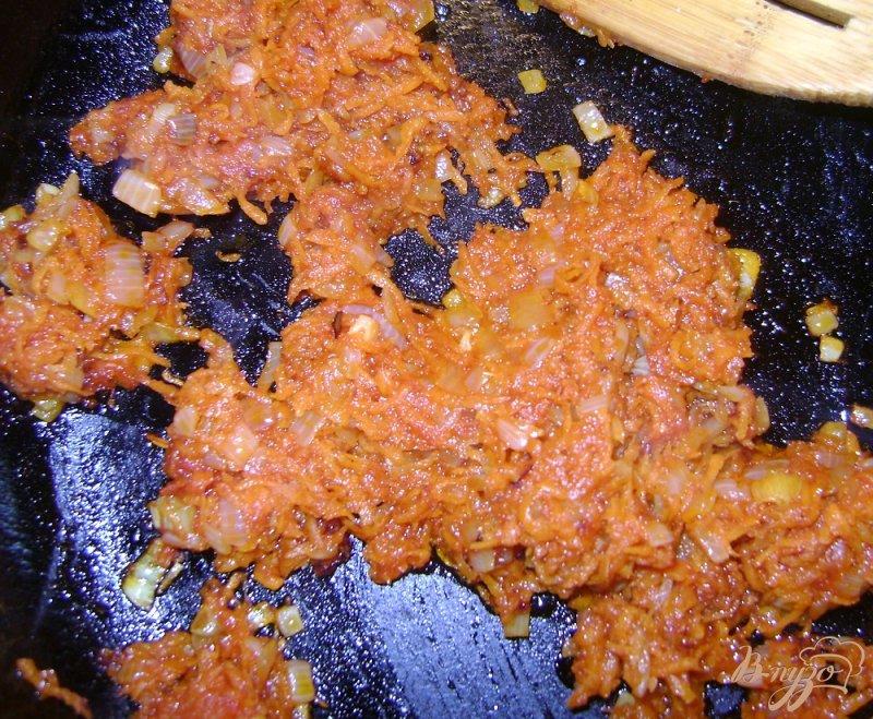 Фото приготовление рецепта: Гороховый суп со свиными ребрышками шаг №5