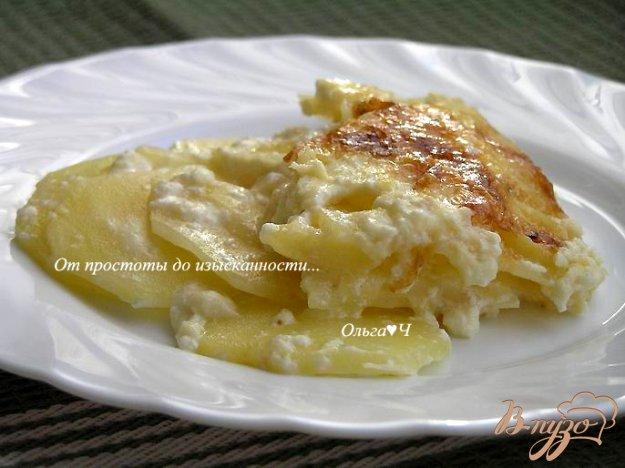 фото рецепта: Картофельный гратен Дофинуа