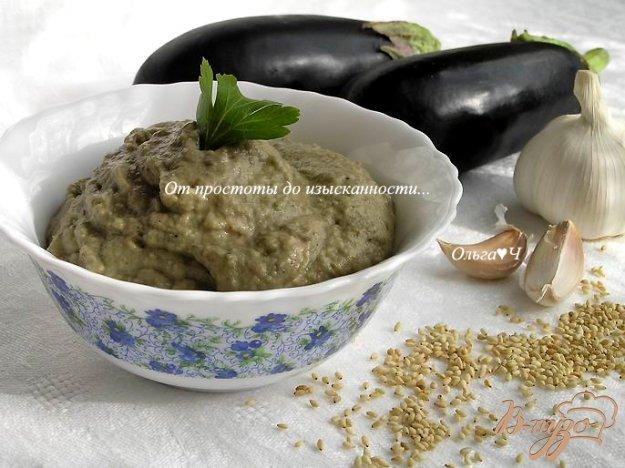 Рецепт Дип из баклажанов с тахиной