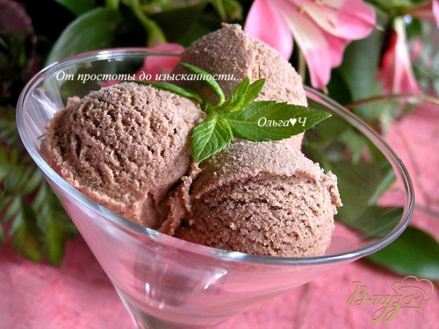 "Рецепт Мороженое ""Молочный шоколад"""