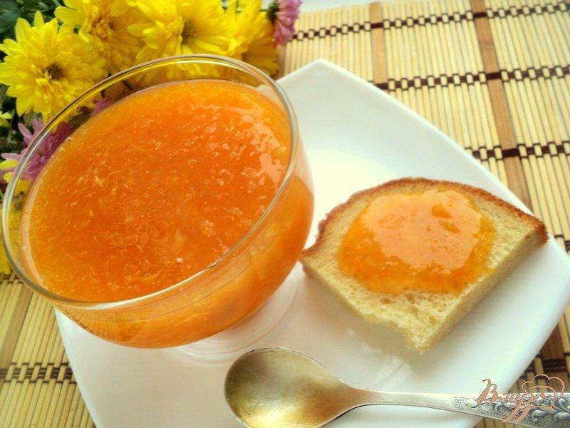 Фото приготовление рецепта: Мандариновый джем с имбирем шаг №5